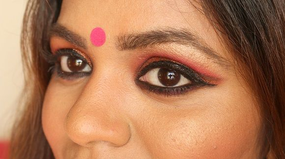 Karvachauth india maquillaje