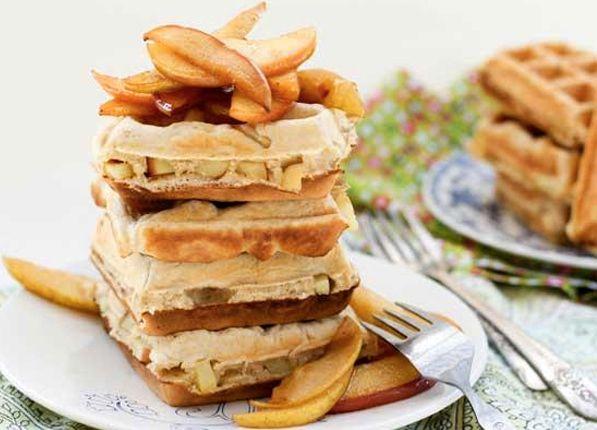 20 Recetas plancha de gofres - cocinan con su plancha de gofres!