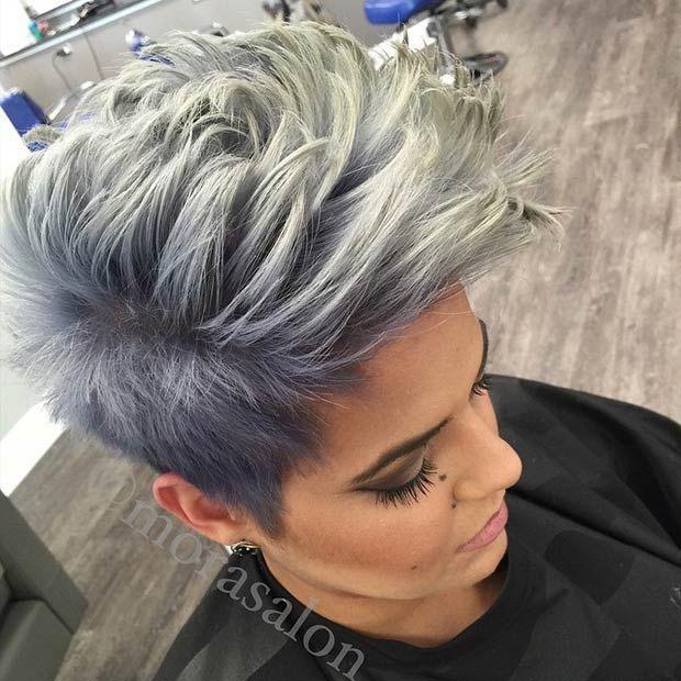 21 Peinados de moda halcón de imitación para el 2016