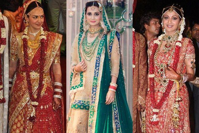 7 Vestidos de novia bollywood más caros que ostentan las celebridades de bollywood