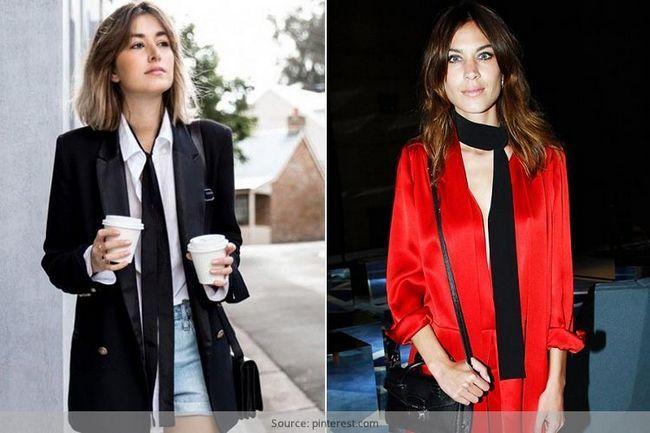 7 Maneras de un fashionista debe atar las bufandas
