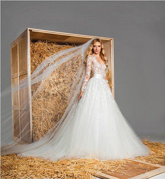 Una colección de zuhair murad 2015 vestidos de novia