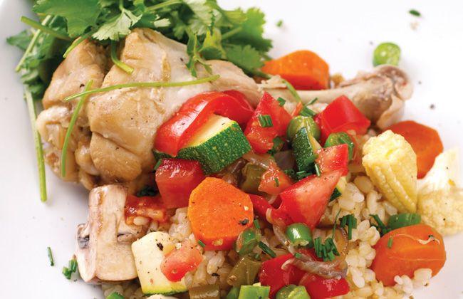Pollo olla caliente de la receta - Recetas de pollo - Mujeres`s Health & Fitness