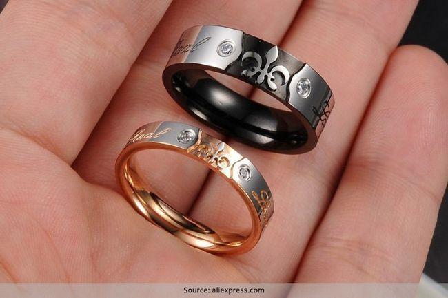 Anillos de la promesa únicas para pareja - diseños que harán que vaya `awww`!