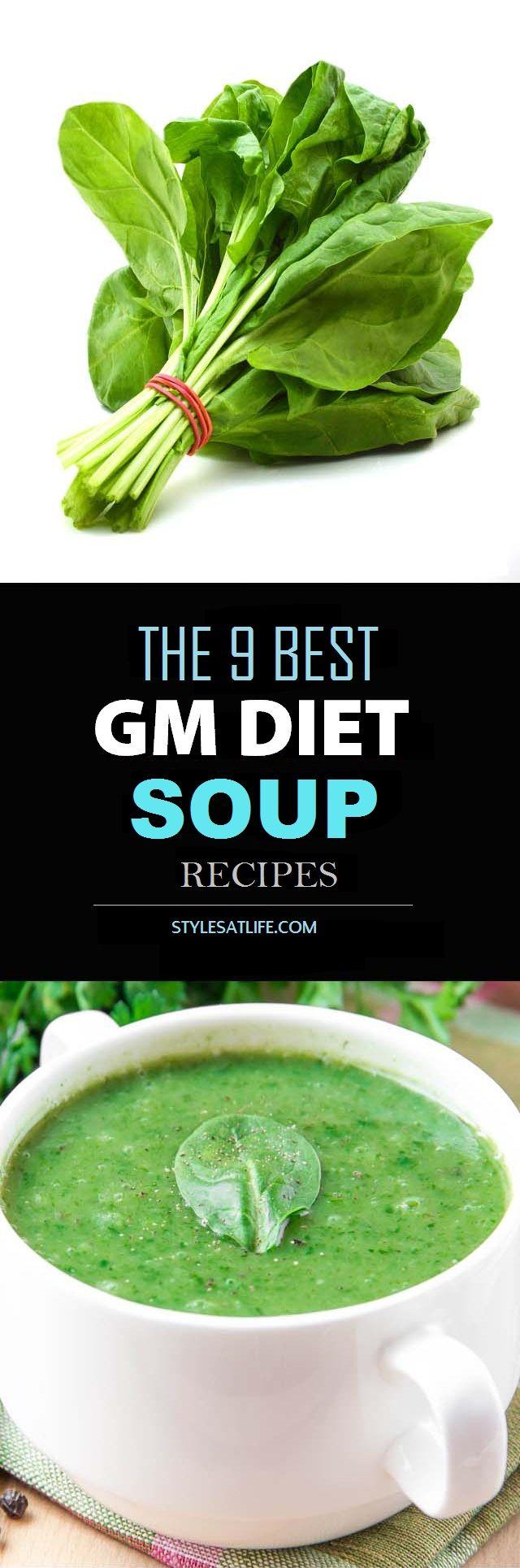 Gm recetas de la dieta de sopa - Nuestro Top 9