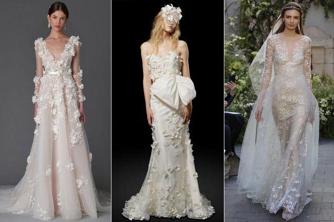 Hipnotizante declaraciones de la moda de novia como se ve en la primavera de 2017 internacional de novia semana de la moda