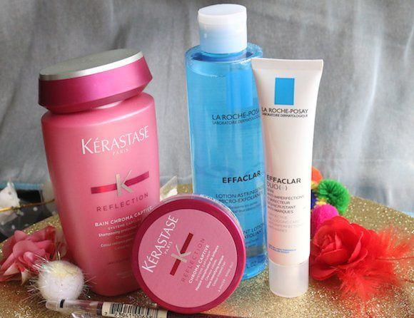 Kerastase-y-la-Roche-Posay-piel-y-cuidado del cabello recorrido