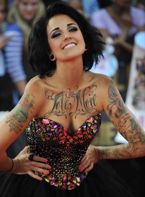 Tatuajes de phoebe dykstra