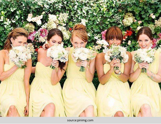 Elige el vestido perfecto para sus damas de honor