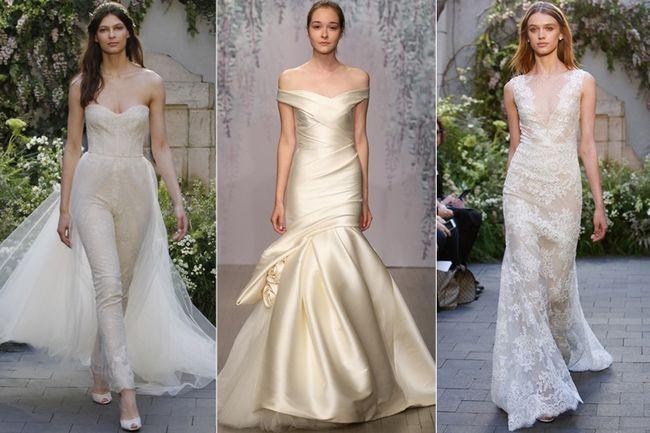 Colarse pico en vestidos de novia de monique lhuillier reportar para la marcación de seguridad de sus compras de moda