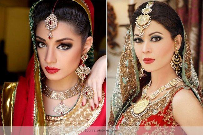 El encanto de maquillaje de novia asiática