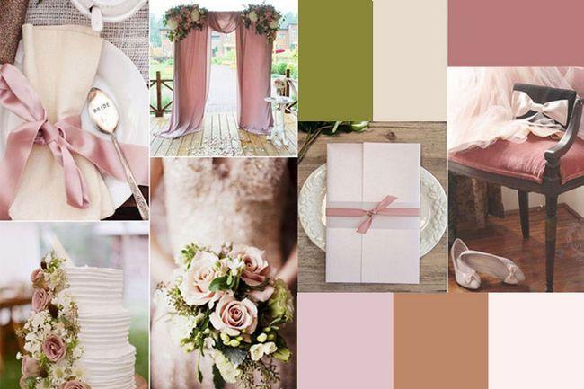 Piense en estas seis combinaciones de colores neutros boda magníficos para su boda