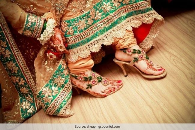 Consejos para ayudar a la novia india comprar sus zapatos de boda