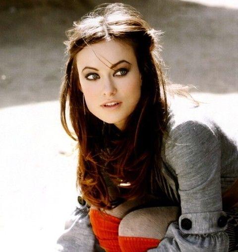 Olivia Wilde peinados: Peinado Hermoso de media la mitad hacia abajo
