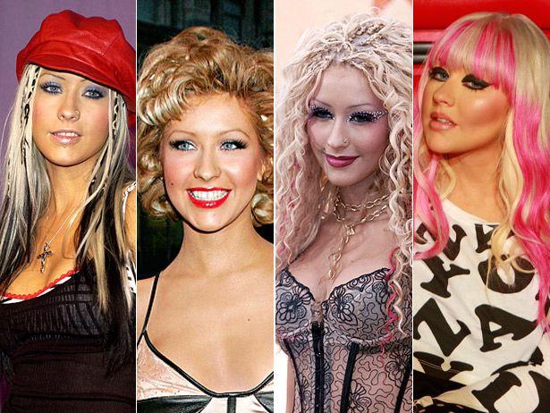 Top 40 más bello cabello se ve de christina aguilera