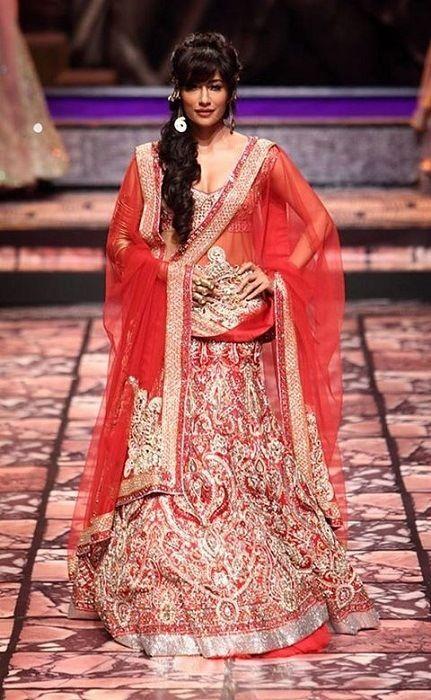chitranganda Singh Verma Suneet semana de la moda nupcial