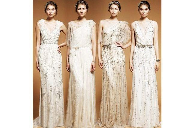 Jenny Packham diseños de novia