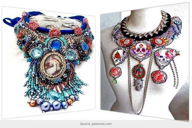 Diseños únicos de la joyería