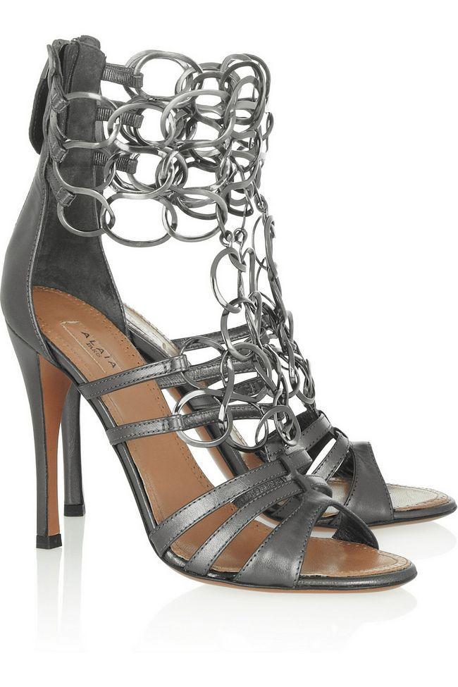 Actualizar su estilo con estos zapatos metálicos súper elegantes y vestido para la primavera / verano 2014