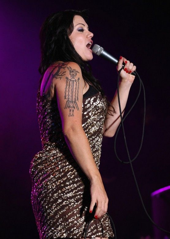 Vanessa Amorosi`s Tattoos