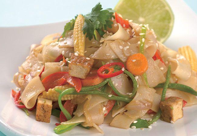 Vegie Pad Thai receta - Mujeres`s Health & Fitness