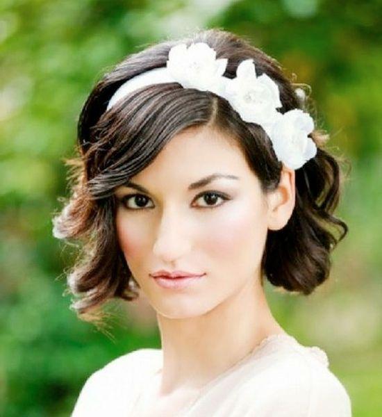 Peinados de boda para el pelo corto debes amar