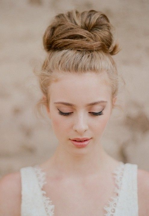 Peinados updo boda - 8 peinados de salón de boda romántica