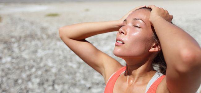 ¿Qué pasa 10 minutos antes de que un golpe de calor?